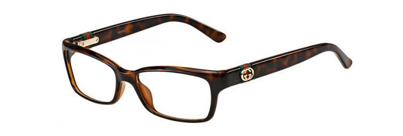 Gucci frames with saddle girth web stripe